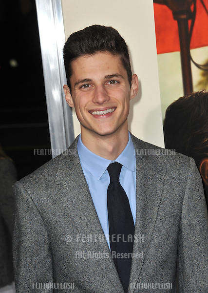 "Ken Baumann at the Los Angeles premiere of ""The Descendants"" at the Samuel Goldwyn Theatre in Beverly Hills..November 15, 2011  Beverly Hills, CA.Picture: Paul Smith / Featureflash"
