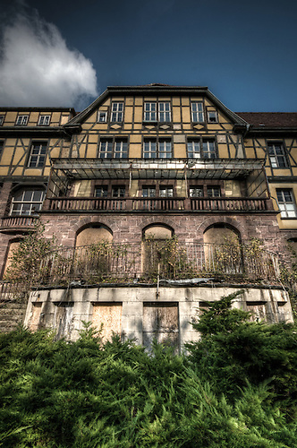An abandoned hospital in Thuringia