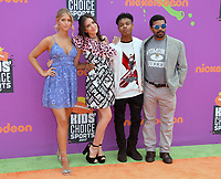 Knight Squad Cast at Nickelodeon's Kids' Choice Sports 2017 at UCLA's Pauley Pavilion. Los Angeles, USA 13 July  2017<br /> Picture: Paul Smith/Featureflash/SilverHub 0208 004 5359 sales@silverhubmedia.com