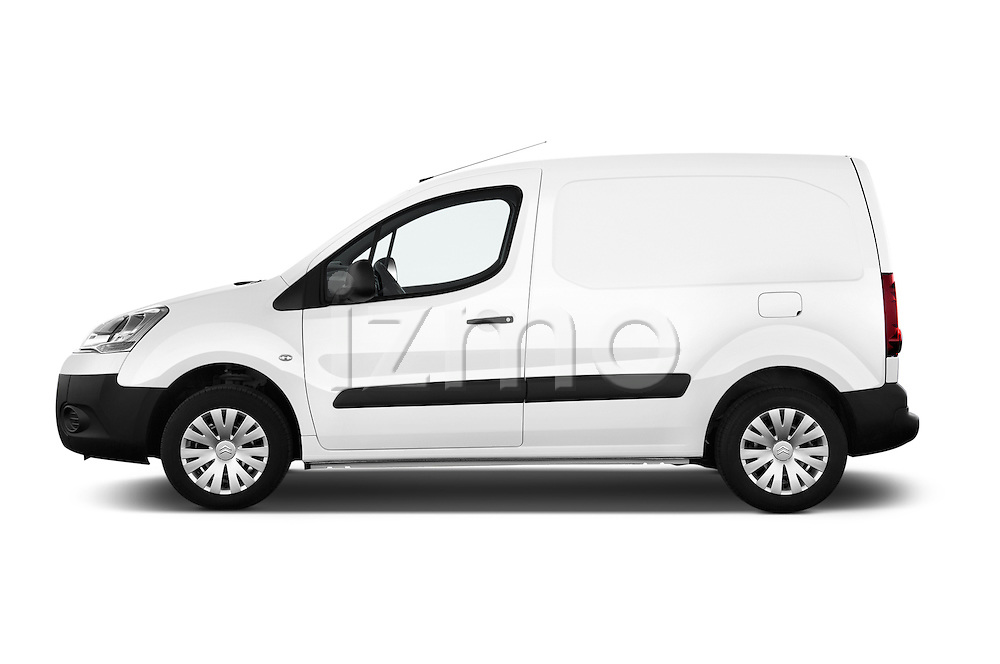 Car Driver side profile view of a 2015 Citroen BERLINGO 1.6 VT 4 Door Car Van Side View