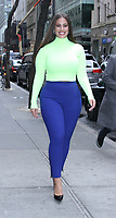 NEW YORK, NY - January 09: Ashley Graham seen leaving NBC's Today Show in New York City on January 09, 2019. <br /> CAP/MPI/RW<br /> &copy;RW/MPI/Capital Pictures