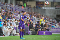 Orlando, FL - Saturday July 01, 2017: Kristen Edmonds during a regular season National Women's Soccer League (NWSL) match between the Orlando Pride and the Chicago Red Stars at Orlando City Stadium.