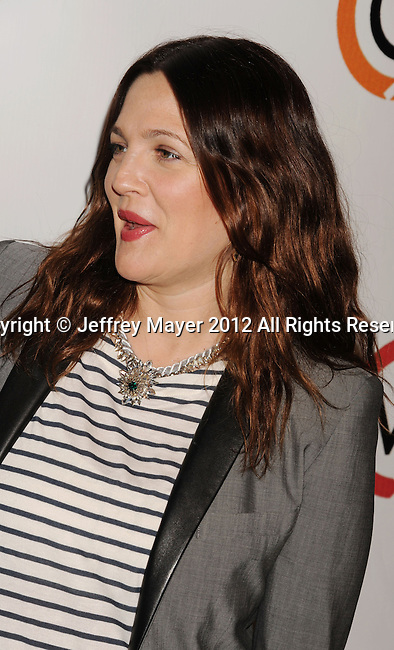 WEST HOLLYWOOD, CA - NOVEMBER 14: Drew Barrymore attends the opening of Kimberly Snyder's Glow Bio Juice Bar at Glow Bio on November 14, 2012 in West Hollywood, California.
