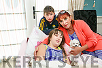Kilflynn Teenager Tina McElligott  who is undergoing Medicinal Cannabis treatment in Spain for Alpers, a rare terminal illness, is home for a break Pictured with mom Mags McElligott and brother Martin McElligott