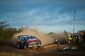 5th October 2017, Costa Daurada, Salou, Spain; FIA World Rally Championship, RallyRACC Catalunya, Spanish Rally; Khalid Al Qasimi of Citroen WRT during the shakedown