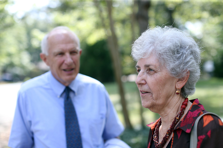 Travis and Sue Brown at home in Albemarle County, Va. Photo/Andrew Shurtleff
