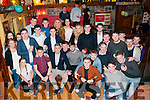 21st Birthday : Paudie Lyons, Ballydonoghue celebrating his 21st birthday with family & friends at thr Thatch Bar, Liselton on Saturday night last.