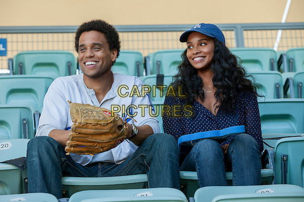 Michael Ealy &amp; Joy Bryant<br /> in About Last Night (2014) <br /> *Filmstill - Editorial Use Only*<br /> CAP/FB<br /> Image supplied by Capital Pictures