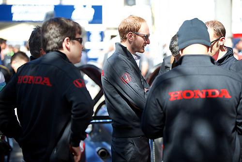 10-14 June 2015, 24 Hours of Le Mans, FIA World Endurance Championship, WEC, Le Mans, France, No. 34 OAK Racing Ligier JS P2 Honda, Kevin Estre, Laurens Vanthoor, Chris Cumming