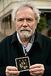 Germany, Berlin, 2018/01/24<br /> <br /> Carl-Wolfgang Holzapfel holding a photo of his companions that he dug the tunnel from West- to East-Berlin in 1963. Photo by Gregor Zielke (Photo by Gregor Zielke)