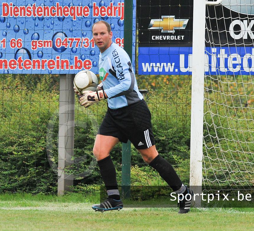 KVC Ardooie : Stijn Louage.foto  VDB / Bart Vandenbroucke