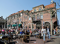 Plantage. Terrassen in Kampen tijdens Sail Kampen