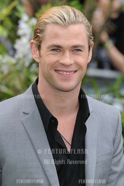 "Chris Hemsworth arriving for the premiere of ""Snow White and the Huntsman"" at the Empire, Leicester Square , London. 14/05/2012 Picture by: Steve Vas / Featureflash"