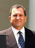Washington, DC - July 15, 1999 -- New Prime Minister Ehud Barak of Israel appears at a press availability in the Rose Garden at the White House on Thursday, 15 July, 1999..Credit: Ron Sachs / CNP
