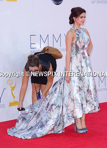 """ARIEL WINTER - 64TH PRIME TIME EMMY AWARDS.Nokia Theatre Live, Los Angelees_23/09/2012.Mandatory Credit Photo: ©Dias/NEWSPIX INTERNATIONAL..**ALL FEES PAYABLE TO: """"NEWSPIX INTERNATIONAL""""**..IMMEDIATE CONFIRMATION OF USAGE REQUIRED:.Newspix International, 31 Chinnery Hill, Bishop's Stortford, ENGLAND CM23 3PS.Tel:+441279 324672  ; Fax: +441279656877.Mobile:  07775681153.e-mail: info@newspixinternational.co.uk"""