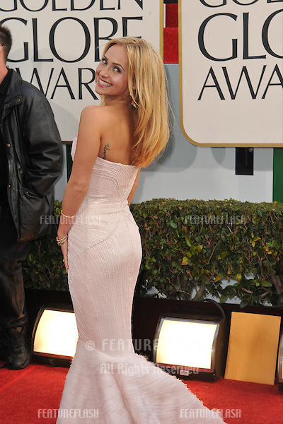 Hayden Panettiere at the 70th Golden Globe Awards at the Beverly Hilton Hotel..January 13, 2013  Beverly Hills, CA.Picture: Paul Smith / Featureflash