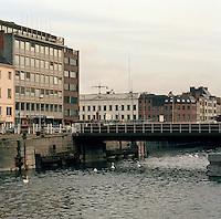 December 1992. Eilandje in Antwerpen.