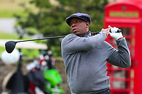 Ian Wright during the Graham Wylie Foundation- Have A Heart- golf day with Lee Westwood and Ronan Keating at Close House Golf Club, Heddon on the wall, England on 10 September 2018. Photo by Thomas Gadd.