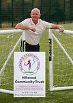26.08.2019 Hillwood Community Trust football pitches: Ian Durrant