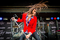 Crobot performing on Day 2 of Rock On The Range at Crew Stadium, Columbus, Ohio, May 17th, 2014. Photo Credit: RTNSchwegler/MediaPunch