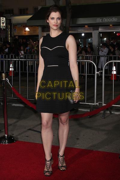 LOS ANGELES, CA - FEBRUARY 24: Jessica De Gouw at the &quot;Non-Stop&quot; Premiere, Village Theater, Westwood,  February 24, 2014. <br /> CAP/MPI/JO<br /> &copy;JO/MPI/Capital Pictures