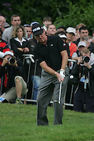 Miguel Angel Jimenez on the 72st hole in the final round of the BMW PGA Championship at the Wentworth Club, Surrey, England - 25th May 2008 (Photo by Manus O'Reilly/GOLFFILE)