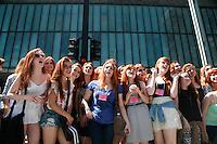 SAO PAULO, SP, 08.09.2013 - 2º ENCONTRO DE RUIVAS E RUIVOS DE SÃO PAULO - Ruivas e ruivos durante o 2º Encontro de Ruivos e Ruivas de São Paulo, o encontro ocorre na Av Paulista, no parque Trianon zona sul de São Paulo, neste domingo 8 de setembro.(Foto: Marcelo Brammer / Brazil Photo Press).