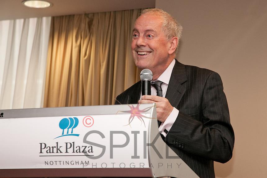Keynote speaker Gyles Brandreth at Nottingham City Business Club