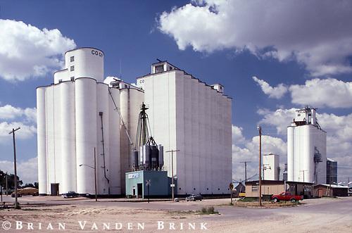 Grain Elevators.Gordon, Nebraska