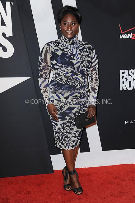 WWW.ACEPIXS.COM<br /> September 9, 2014 New York City<br /> <br /> Danielle Brooks attending Fashion Rocks 2014 at the Barclays Center September 9, 2014 in New York City.<br /> <br /> Please byline: Kristin Callahan/AcePictures<br /> <br /> ACEPIXS.COM<br /> <br /> Tel: (212) 243 8787 or (646) 769 0430<br /> e-mail: info@acepixs.com<br /> web: http://www.acepixs.com