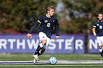 21 October 2012: Penn State's Owen Griffith. The Northwestern University Wildcats played the Penn State University Nittany Lions at Lakeside Field in Evanston, Illinois in a 2012 NCAA Division I Men's Soccer game. Penn State won the game 1-0 in golden goal overtime.