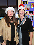 Petra Clarke and Eileen Fitzgerald pictured at Ballapoosta christmas fair. Photo: Colin Bell/pressphotos.ie