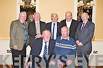 GREEN & GOLD: Having fun at the Kerry Supporters annual dinner at the Ballygarry House hotel and Spa on Saturday seated l-r: Jerry Brosnan and Paddy Townes.. Back l-r: Michael Allen, Jim Wrenn, John Managan, Tom Leen and Denis Carroll...