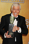 LOS ANGELES, CA - JANUARY 27: Dick Van Dyke recipient of the Screen Actors Guild Life Achievement Award poses at the 19th Annual Screen Actors Guild Awards at The Shrine Auditorium on January 27, 2013 in Los Angeles, California.