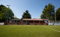 General view of the stadium during the UHLSport Hellenic Premier League match between Flackwell Heath v Tuffley Rovers at Wilks Park, Flackwell Heath, England on 20 April 2019. Photo by Andy Rowland.