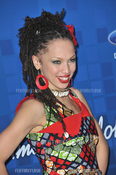 Naima Adedapo at the American Idol Finalists Party at The Grove Los Angeles..March 3, 2011  Los Angeles, CA.Picture: Paul Smith / Featureflash
