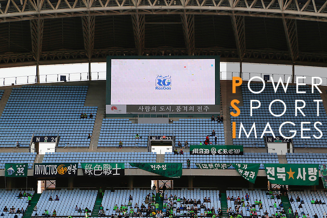 JEONBUK HYUNDAI MOTORS (KOR) vs JIANGSU SUNING (CHN) during the 2016 AFC Champions League Group E Match Day 6 match on 04 May 2016 in Jeonju, South Korea. Photo by Lee Jae-Won / Power Sport Images