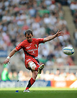 Twickenham, GREAT BRITAIN, Toulouses', Jean-Bapiste ELISSALDE, in action, during the Heineken, Semi Final, Cup Rugby Match,  London Irish vs Toulouse, at the Twickenham Stadium on Sat 26.04.2008 [Photo, Peter Spurrier/Intersport-images]