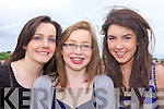 Katie O'Connell and Ellen McNamara from Lisselton and Niamh Keane from Listowel pictured at the Listowel Races last Saturday