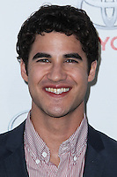 BURBANK, CA - OCTOBER 19: Darren Criss at the 23rd Annual Environmental Media Awards held at Warner Bros. Studios on October 19, 2013 in Burbank, California. (Photo by Xavier Collin/Celebrity Monitor)