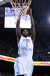 30 December 2014: North Carolina's Theo Pinson. The University of North Carolina Tar Heels played the College of William & Mary Tribe in an NCAA Division I Men's basketball game at the Dean E. Smith Center in Chapel Hill, North Carolina. UNC won the game 86-64.
