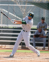 Shane Keough / Oakland Athletics 2008 Instructional League..Photo by:  Bill Mitchell/Four Seam Images
