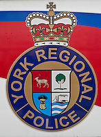 York Regional Police car is seen during a police memorial parade in Ottawa Sunday September 26, 2010.