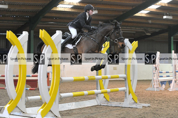 Class 3. British Showjumping Juniors. Brook Farm training centre. Stapleford abbots. Essex. 25/03/2018. ~ MANDATORY CREDIT Garry Bowden/SIPPA - NO UNAUTHORISED USE - +44 7837 394578