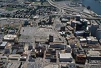 1996 June 28..Redevelopment..Macarthur Center.Downtown North (R-8)..CLOSEUP LOOKING EAST.BOUSH STREET IN FRONT...NEG#.NRHA#..