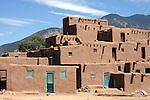 Taos Pueblo, Taos, N.M. August 20, 2007. Photo by Lia Chang