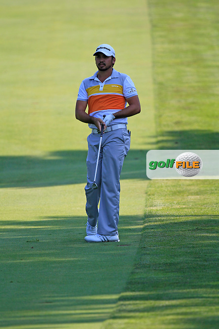 Jason Day (AUS) plays his 2nd shot on the 8th hole during Thursday's Round 1 of the 2012 World Golf Championship Bridgestone Invitational at The Firestone Country Club, Akron, Ohio, USA 2nd August 2012 (Photo Eoin Clarke/www.golffile.ie)