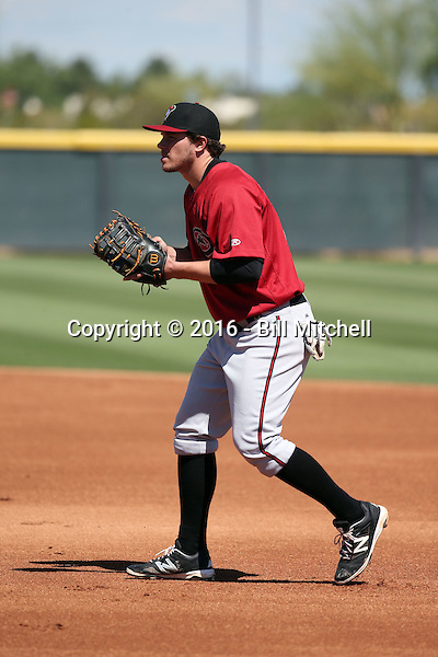 Austin Byler - Arizona Diamondbacks 2016 extended spring training (Bill Mitchell)