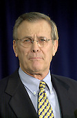 Former United States Secretary of Defense (Ford) Donald Rumsfeld is named as US Secretary of Defense by US President-elect George W. Bush in Washington, DC on December 28, 2000.<br /> Credit: Ron Sachs / CNP