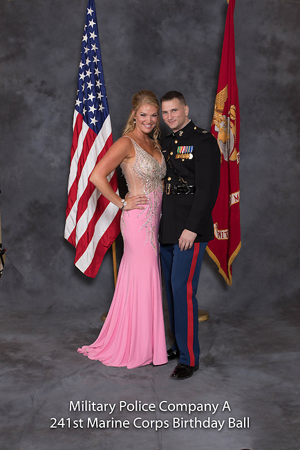 Christopher Katz at the Military Police Company A 241 Marine Corps Birthday Ball, Saturday Nov. 19, 2016  in Lexington, Ky. Photo by Mark Mahan
